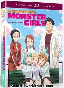 Interviews with Monster Girls BD/DVD