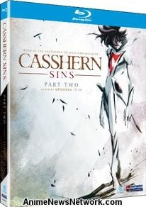 Casshern Sins Parts 1 and 2 Blu-Ray