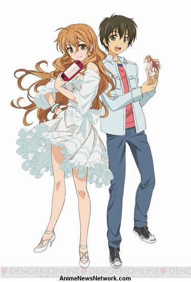 By Yukari Hashimoto Golden Time Anime Toradora Starting On Sunday People Who Pre Order The Game At Participating Akihabara Stores Will Also Receive