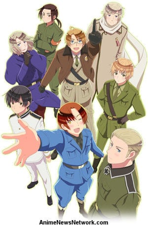 Daisuke Namikawa Sings New Hetalia Anime's Theme Song as Italy
