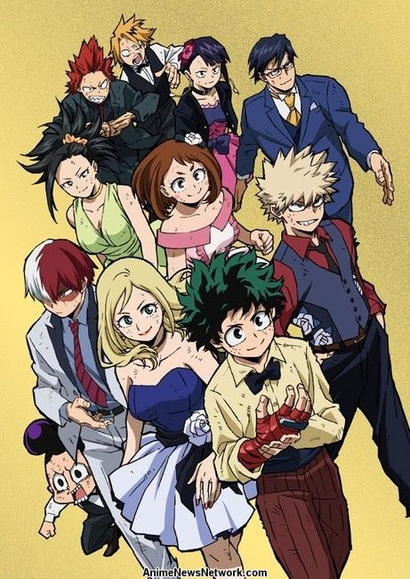My Hero Academia Two Heroes Film S Bonus All Might Rising Manga Gets Animated News Anime News Network